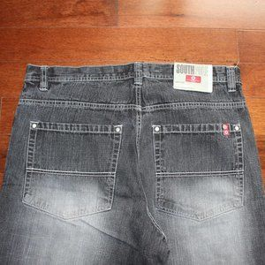 """SOUTH POLE JEANS """"BLACK WASHED"""""""